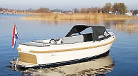 Distinctive design can be seen from Henley towpath