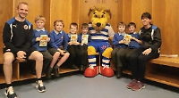 Pupils given tour of Royals' stadium in reading initiative