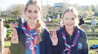 Twins make guiding promise on amusement park rides