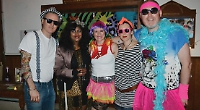Eighties party raises £200 for youth project