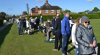 Hundreds queue to snap up tickets for the village festival