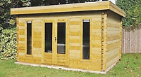 Log cabins, summerhouses, garden offices and more