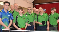 Table tennis club celebrates half century of competition