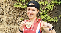 Physiotherapist eyes up GB vest after impressive marathon performance