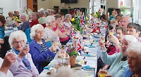 Thanks for the tea party, Tony, say pensioners