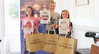 Children's work brightens up estate agents windows