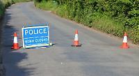 Police shut road near Henley