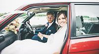 Couple grateful for return of stolen wedding car