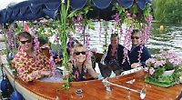 Record numbers take to the water for third floral flotilla