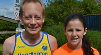 Girl, 13, wins Chiltern Chase 5k with a little help from rival