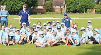 Young stars of the future flock to recreation ground to take part in ECB initiative