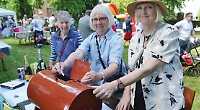 MP among crowds enjoying church fete in the sunshine