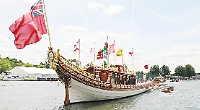 Royal barge returning to traditional boat festival for third year