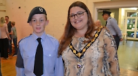Teenager 'shocked' to be Mayor's cadet after just 18 months