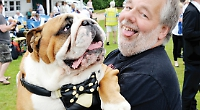 Dogs of all shapes and sizes go walkies for annual show
