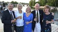 President hosts drinks party to mark traditional regatta
