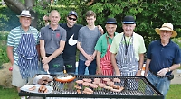 Peppard fete: trophies, barbeques and ice cream