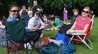Community picnic at closure-threatened school