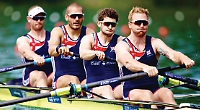 Satch and Sbihi help men's four secure world cup gold