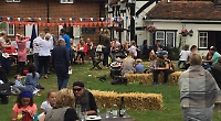 Families get into spirit of wild west at themed pub party