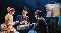 Verne's worldly tale is a feast of storytelling, circus and slapstick