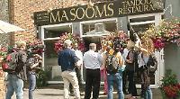 Village filmed by BBC show during Bloom judges' visit