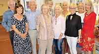 Art group's annual exhibition raises £310 for day centre