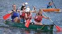 Crowds flock to regatta despite downpours