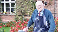 Butcher who put his 100 years down to red meat and wine