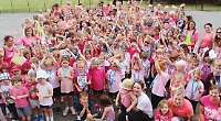 Whole school takes part in 5km run for Cancer Research