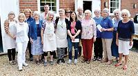 Bridge 'yarn bombers' donate £5,000 to good causes
