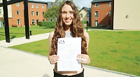 Howzat! Teenage cricketer achieves all As in GCSEs she took just weeks after leaving American hospital