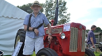 Stroke victim wins best in show prize for restored Sixties tractor