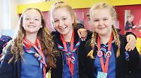 Girls raise money to 'twin' toilets