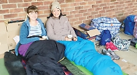'Big Sleepers' raise £36,000 for homeless in one night