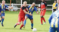 Daka sent off late in game as Town lose out on travels