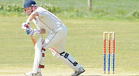 Two wickets in three balls stumps hosts