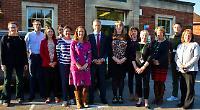 Shadow education minister visits Caversham school