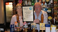 Couple win award for services to pub trade