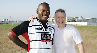 Former Hawks forward delivering hope to slums of Nigeria through rugby