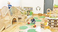 Nursery's 'Little Peas' room welcomes one-year-olds