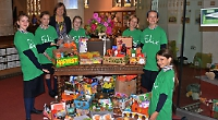 Pupils give 160 boxes to food bank to celebrate Harvest