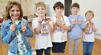 Lego club's founders want to build on first year's success