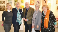 Firefighters save the day at art gallery launch
