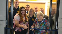Hawks celebrate opening of £450,000 changing rooms