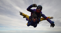 'After my injury I could hardly walk... but now I'm skydiving!'
