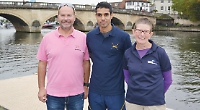 Sri Lankan rowing coach visits Leander for performance tips