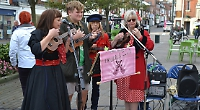 Ukulele players launch Henley Poppy Appeal