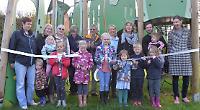 Children thrilled with playground after £47,000 upgrade