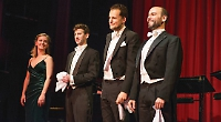 Tenors demonstrate the power of three with a flow of melody